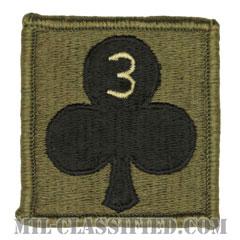 327歩兵連隊第1旅団戦闘団第3大隊(3rd Battalion, 1st BCT, 327th Infantry Regiment)[サブデュード/ヘルメット用/パッチ]の画像