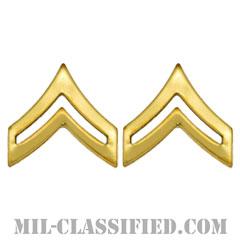 伍長(Corporal (CPL))[カラー/階級章/バッジ/ペア(2個1組)]の画像