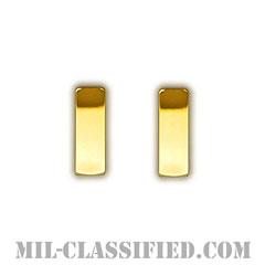 少尉(Second Lieutenant/Ensign)[カラー/階級章/バッジ/ミニサイズ/ペア(2個1組)]の画像