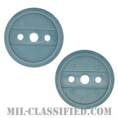 歩兵科章用ブルーディスク(Infantry Blue Plastic Disc)[ペア(2個1組)]の画像