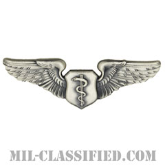 飛行医師章 (ベーシック)(Flight Surgeon, Basic)[カラー/燻し銀/バッジ]の画像