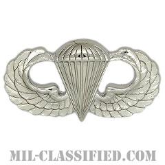 空挺章 (ベーシック)(Parachutist Badge, Basic)[カラー/鏡面仕上げ/バッジ]の画像