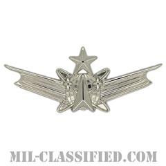 宇宙運用章 (シニア)(Space Operations Badge/Space Badge, Senior)[カラー/鏡面仕上げ/バッジ]の画像