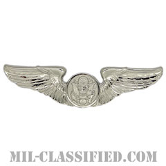 航空機搭乗員章 (下士官用エアクルー)(Air Force Enlisted Aircrew Badge)[カラー/鏡面仕上げ/バッジ]の画像