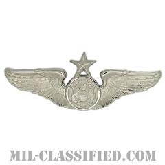 航空機搭乗員章 (下士官用シニア・エアクルー)(Air Force Enlisted Senior Aircrew Badge)[カラー/鏡面仕上げ/バッジ]の画像