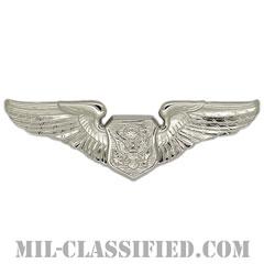 航空機搭乗員章 (将校用エアクルー)(Air Force Officer Aircrew Badge)[カラー/鏡面仕上げ/バッジ]の画像