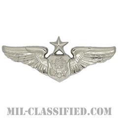 航空機搭乗員章 (将校用シニア・エアクルー)(Air Force Officer Senior Aircrew Badge)[カラー/鏡面仕上げ/バッジ]の画像