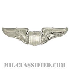 航空機操縦士章 (パイロット)(Air Force Pilot Badge)[カラー/鏡面仕上げ/バッジ]の画像