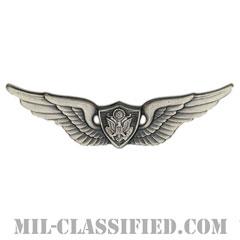 航空機搭乗員章 (ベーシック・エアクルー)(Army Aviation Badge (Aircrew), Basic)[カラー/燻し銀/バッジ]の画像
