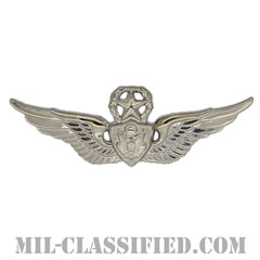 航空機搭乗員章 (マスター・エアクルー)(Army Aviation Badge (Aircrew), Master)[カラー/鏡面仕上げ/バッジ]の画像