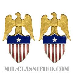 准将補佐官(Aide to the Brigadier General)[カラー/兵科章(将校用)/バッジ/ペア(2個1組)]の画像