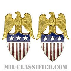 中将補佐官(Aide to the Lieutenant General)[カラー/兵科章(将校用)/バッジ/ペア(2個1組)]の画像