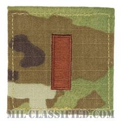 少尉(Second Lieutenant (2LT))[OCP/空軍階級章/ベルクロ付パッチ]の画像
