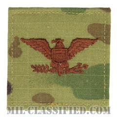 大佐(Colonel (COL))[OCP/空軍階級章/ベルクロ付パッチ]の画像