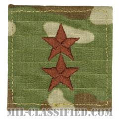 少将(Major General (MG))[OCP/空軍階級章/ベルクロ付パッチ]の画像