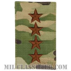 大将(General (GEN))[OCP/空軍階級章/ベルクロ付パッチ]の画像