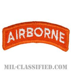 エアボーンタブ(オレンジ&ホワイト)(Airborne Tab)[カラー/メロウエッジ/パッチ]の画像