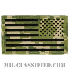 星条旗 NWU Type3 AOR2(リバース)(USA Flag (Reversed))[ベルクロ付パッチ]の画像