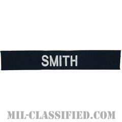 SMITH [カバーオール用/シルバー刺繍/海軍ネームテープ/生地テープパッチ]の画像