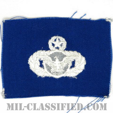 警備機能章 (マスター)(Security Police Functional Badge, Master)[カラー/空軍ブルー生地/パッチ]の画像
