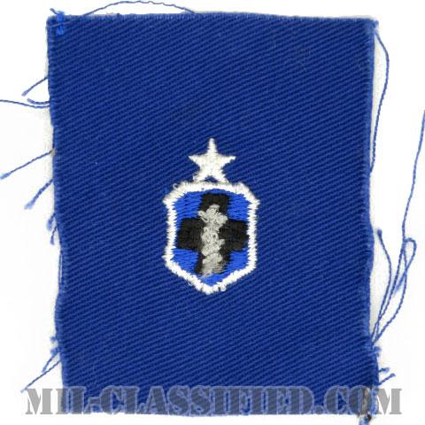 医療章 (下士官用シニア)(Enlisted Medical Badge, Senior)[カラー/空軍ブルー生地/パッチ]の画像