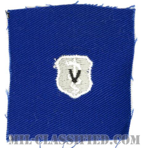 獣医章 (ベーシック)(Veterinarian Badge, Basic)[カラー/空軍ブルー生地/パッチ]の画像