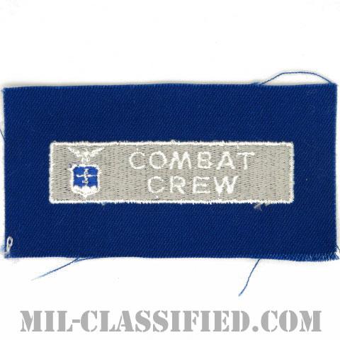 戦闘員章 (コンバットクルー)(Combat Crew Badge)[カラー/空軍ブルー生地/パッチ]の画像