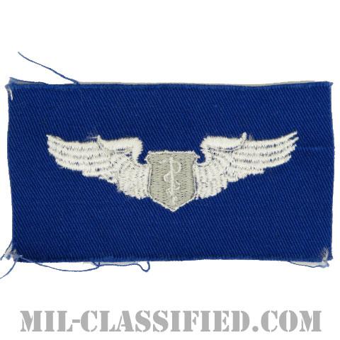 飛行医師章 (ベーシック)(Flight Surgeon, Basic)[カラー/空軍ブルー生地/パッチ]の画像