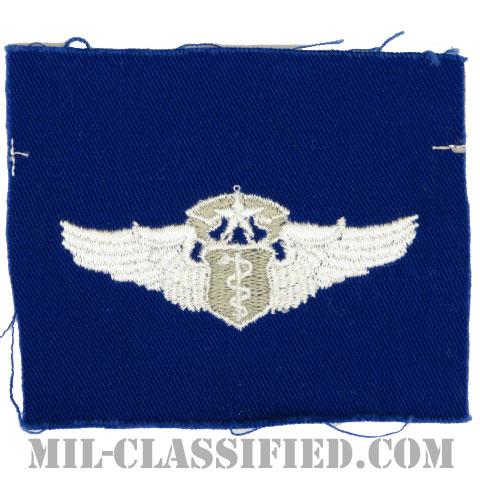 飛行医師章 (チーフ)(Flight Surgeon, Chief)[カラー/空軍ブルー生地/パッチ]の画像