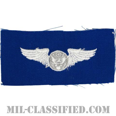 航空機搭乗員章 (下士官用エアクルー)(Air Force Enlisted Aircrew Badge)[カラー/空軍ブルー生地/パッチ]の画像