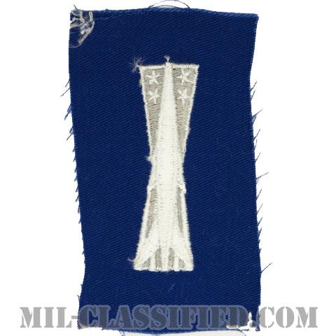 ミサイル整備章(Missile Maintenance Badge)[カラー/空軍ブルー生地/パッチ]の画像