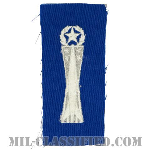 ミサイル整備章 (マスター)(Missile Maintenance Badge, Master)[カラー/空軍ブルー生地/パッチ]の画像
