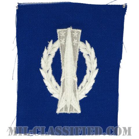 ミサイル運用章 (ベーシック)(Missile Operations Badge, Basic)[カラー/空軍ブルー生地/パッチ]の画像