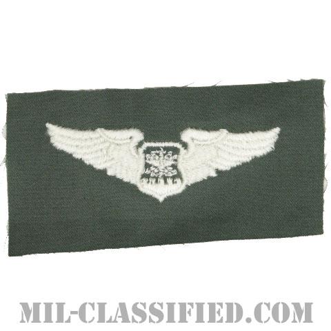 航空士章 (ナビゲーター・ベーシック)(Navigator/Observer Badge, Basic)[カラー/空軍セージグリーン生地/パッチ]の画像