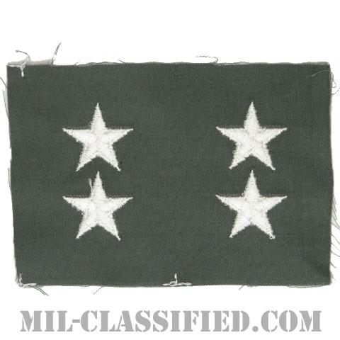 少将(Major General (MG))[カラー/空軍セージグリーン生地/階級章/ペア(2枚1組)]の画像