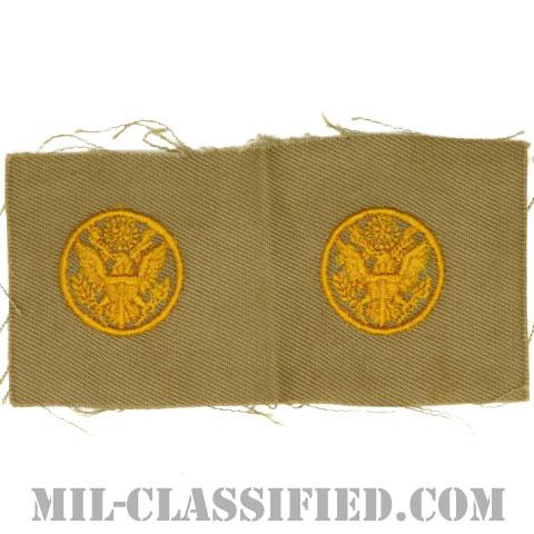 未配属下士官章(Unassigned Enlisted)[カラー/カーキ生地/兵科章/ペア(2枚1組)]の画像