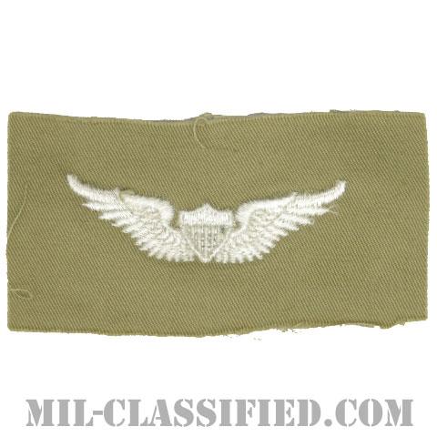 飛行士章 (ベーシック・パイロット)(Army Aviator (Pilot), Basic)[カラー/カーキ生地/パッチ]の画像