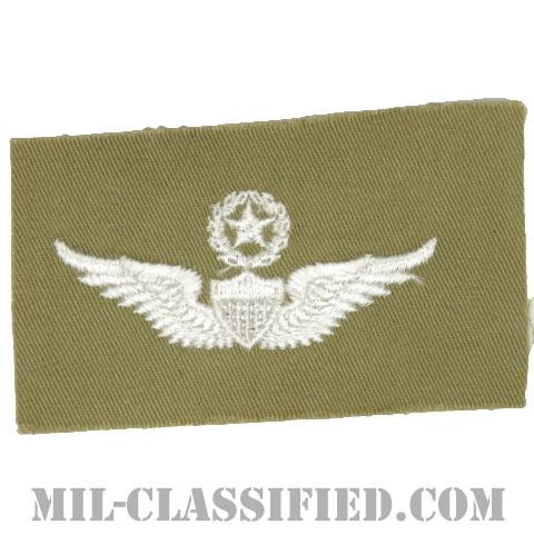 飛行士章 (マスター・パイロット)(Army Aviator (Pilot), Master)[カラー/カーキ生地/パッチ]の画像