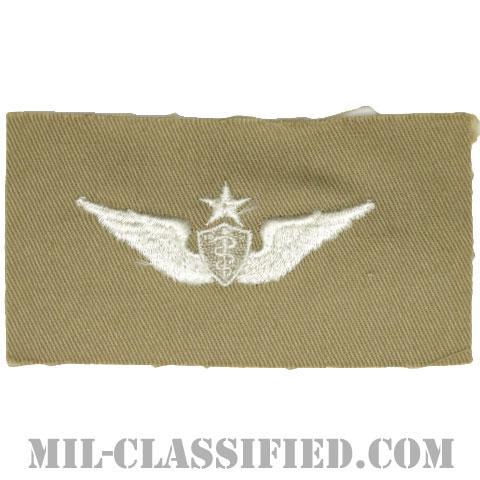 飛行医師章 (シニア)(Flight Surgeon, Senior)[カラー/カーキ生地/パッチ]の画像