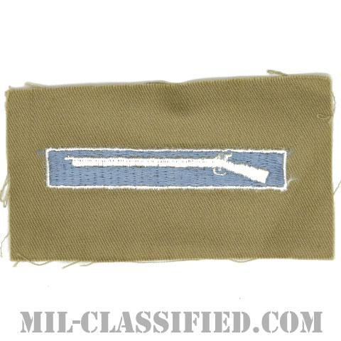 優秀歩兵章(Expert Infantryman Badge (EIB))[カラー/カーキ生地/パッチ]の画像