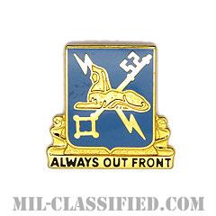 軍事情報連隊(Military Intelligence Regimental Corps)[カラー/クレスト(Crest・DUI・DI)バッジ]の画像