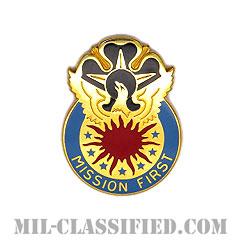 第111軍事情報旅団(111th Military Intelligence Brigade)[カラー/クレスト(Crest・DUI・DI)バッジ]の画像