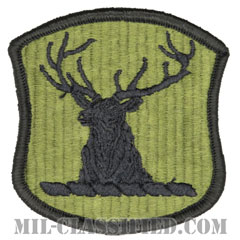 アイダホ州 州兵(National Guard, Idaho)[サブデュード/メロウエッジ/パッチ]の画像