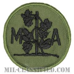 コネチカット州 州兵士官学校(National Guard Military Academy, Connecticut)[サブデュード/メロウエッジ/パッチ]の画像
