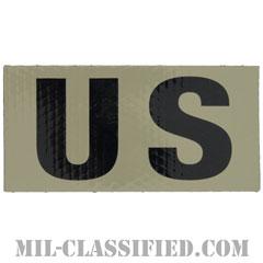 US(アメリカ合衆国)(United States of America)[IR(赤外線)反射素材/4インチ幅/ベルクロ付パッチ]の画像