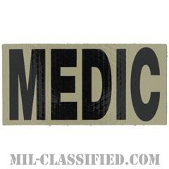 MEDIC(衛生兵)(Medic)[IR(赤外線)反射素材/4インチ幅/ベルクロ付パッチ]の画像