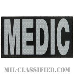 MEDIC(衛生兵)(Medic)[IR(赤外線)反射素材/3.5インチ幅/ベルクロ付パッチ]の画像