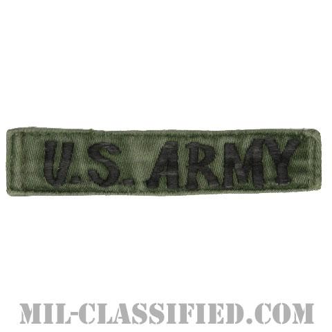 U.S.ARMY[サブデュード/横振り刺繍/ネームテープ/パッチ/中古1点物]の画像