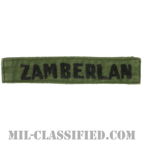 ZAMBERLAN[サブデュード/手刺繍/ネームテープ/パッチ/中古1点物]の画像