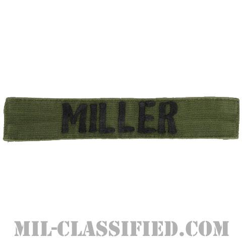 MILLER[サブデュード/横振り刺繍/ネームテープ/パッチ/中古1点物]の画像